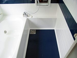 浴槽・浴室樹脂コーティング塗装施工後の写真