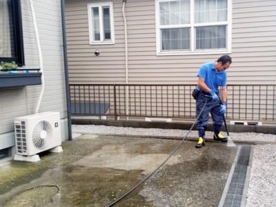 賃貸住宅(アパート・マンション)敷地内清掃の写真2