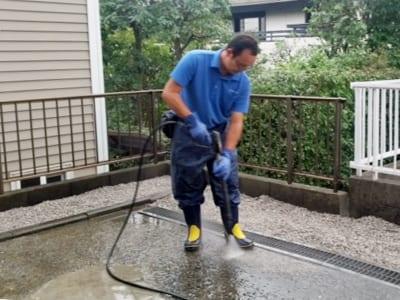 賃貸住宅(アパート・マンション)敷地内清掃の写真3