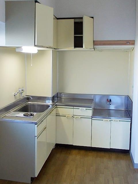 システムキッチン交換リフォーム、施工前の写真