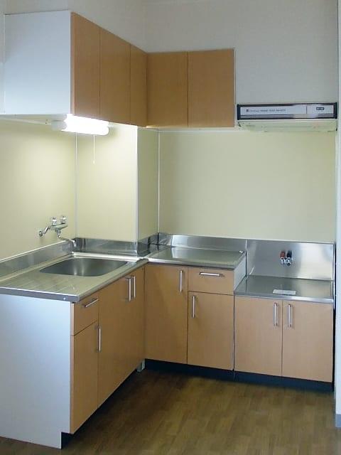 システムキッチン交換リフォーム、施工後の写真