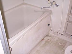 浴槽の樹脂コーティング塗装 施工前の画像